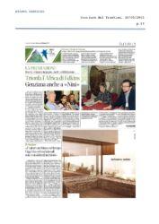 Corriere del Trentino - 10/05/2015